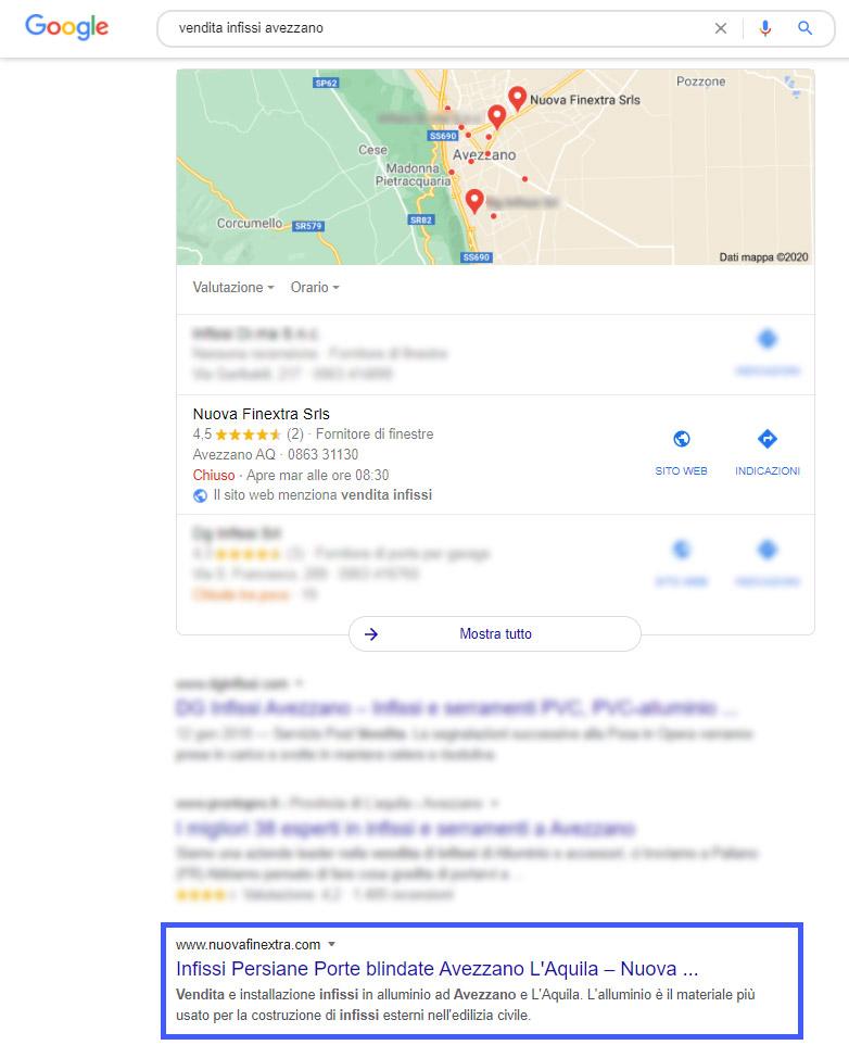 Seo e Local Seo ad Avezzano - agenzia seo Avezzano