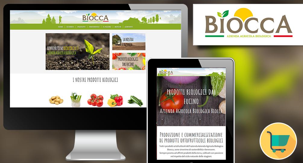 Realizzazione sito web per azienda agricola biologica Avezzano